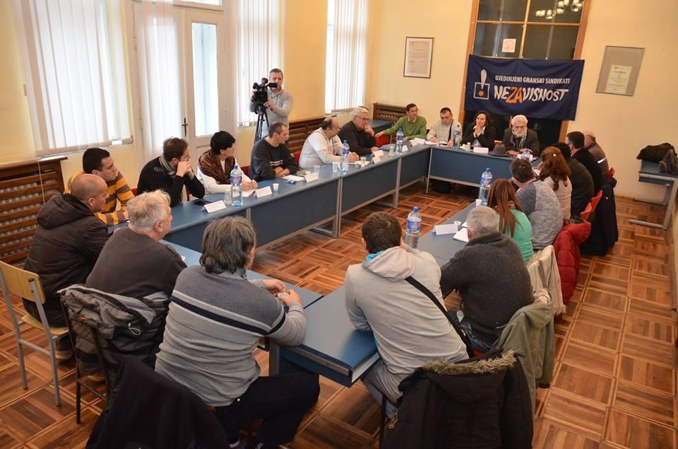 Sastanak koordinacije UGS Nezavisnost