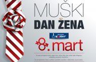 Muški dan žena - obeležavanje 8. marta