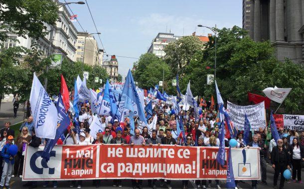 Prvi maj u Srbiji: Radnici se još bore za