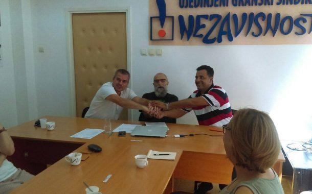 Sporazum o saradnji sindikata RTS I RTV NEZAVISNOST