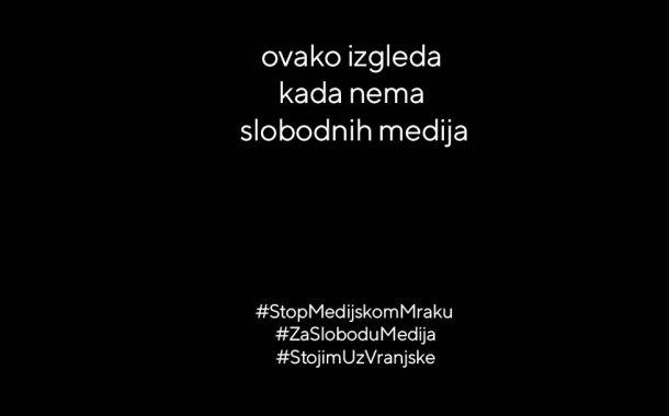 Proglas Za slobodu medija: Izbor više ne postoji