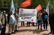 Protestna šetnja povodom međunarodnog dana rada