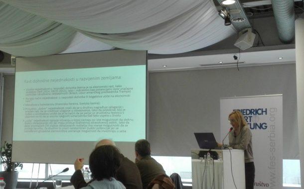 Dohoda nejednakost u Srbiji - Od podataka do politike