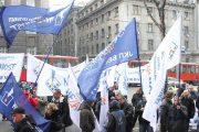 Protest komunalaca, radnika u kulturi i medijima
