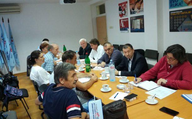 Održan pripremni sastanak za pregovore o minimalnoj ceni rada