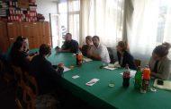 Sastanak sa kolegama iz sindikata Vodoprivrednog preduzeća doo Ćuprija