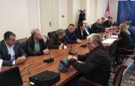 Održan sastanak sa ministrom finansija